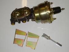 "1958 chevrolet impala brake booster master cylinder 7"" dual diaphragm"