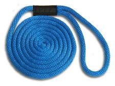 "1/2"" x 40' Solid Braid Dock Lines - Royal Blue"