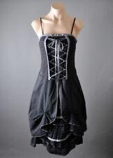 Women Corset Petticoat Victorian Western Steampunk Bustle Dress S M L XL 2XL 3XL