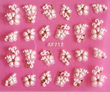 3D Nail Art Sticker Tips  Flower  Decals Decorations Transfers Design Form sheet
