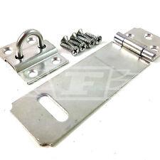"""115mm (4.5"""") e la sicurezza di sicurezza PORTALUCCHETTO LUCCHETTO IN FIOCCO con raccordi di zinco"""