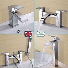 ARKE BATHROOM CHROME SINK BASIN MONO MIXER BATH FILLER SHOWER TAP SOLID BRASS