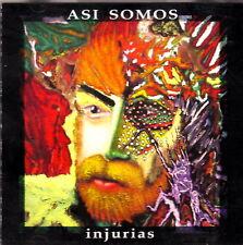 Asi Somos Injurias Palabras Locas Rock & Pop Puerto Rico 2002 CD