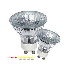 5x Halogen-Leuchtmittel GU10 20W-35W-50W 230V Halogen-Strahler Lampe Fassungen