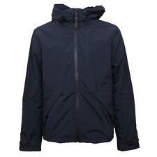 B4285 giubbotto uomo SELECTED HOMME giubbotti cappuccio blu jacket man