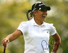 Natalie Gulbis Hand Signed 8x10 Photo LPGA Autograph Golf