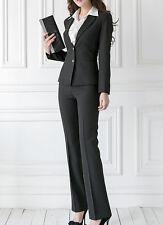 Traje conjunto de mujer negro anorak manga larga y pantalones código 7054