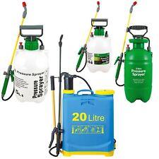 Garden Pressure Sprayer Knapsack Weedkiller Chemical Fence Water Spray Bottle