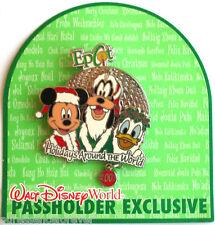 WDW Epcot Holidays Around the World 2003 Passholder Pin