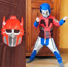 lot 1 Costumes robot  déguisement transformer et un masque enfant 3/4 ans