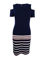 Tommy Hilfiger Women's Cold-Shoulder Sheath Dress