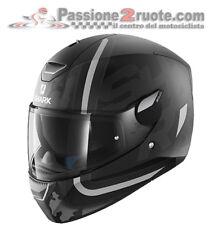 Integral helm moto Shark Skwal Frachter KAS matte black mat black XS SML XL