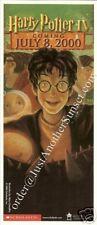 Harry Potter Promo Goblet of Fire Flyer Bookmark Nla