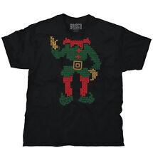 Elf Santa Ugly Christmas Sweater Funny Shirts Gift Ideas Cool T Shirt Tee