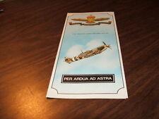RCAF MEMORIAL ASTRA, ONTARIO BROCHURE