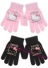 Gants Hello Kitty Ange ou Démon extensibles achat gant fille fashion neuf