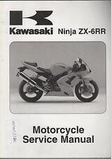 2004 KAWASAKI MOTORCYCLE NINJA ZX-6RR SERVICE MANUAL NEW