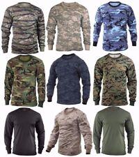 Long Sleeve T-shirt Camouflage - Sizes: S-2XL