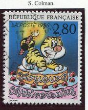 STAMP / TIMBRE FRANCE OBLITERE N° 2838 BD BONNE FETE /