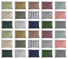 Classic Plaid Pillow Sham Decorative Pillowcase 3 Sizes Bedroom Decor