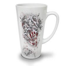 DEVIL BESTIA Sangue Horror Nuovo White Tea Tazza Da Caffè Latte Macchiato 12 17 OZ   wellcoda
