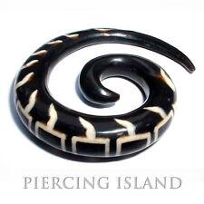 6mm oder 8mm Dehnungssichel Spirale Sichel Horn Expander Ohr Ear Piercing 085