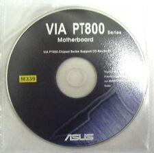 DRIVER CD x scheda madre main board ASUS VIA PT800 SERIES