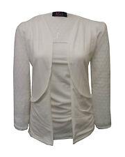 Girls Kids Fashion School Plain Lace Open Boyfriend Cardigan With Pockets 7-13