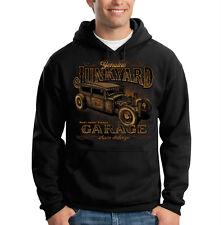 Genuine Junkyard Garage Hot Rat Rod Car Auto Racing Hooded Sweatshirt Hoodie
