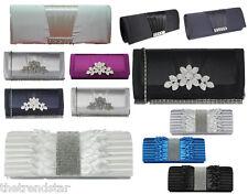 Womens Clutch Purse Ladies Designer Wallet Bridal Evening Party HandBag