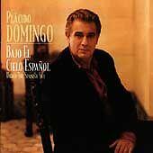 Placido Domingo - Bajo el Cielo Español - CD Under The Spanish Sky 96 Sony/BMG