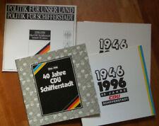 Cdu schifferstadt 50 años 1996 3 libros fotos elecciones Palatinado política Partido