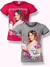 Violetta Mädchen KinderT-Shirt kurzarmGr.116-152 Shirt kurzarm  neu