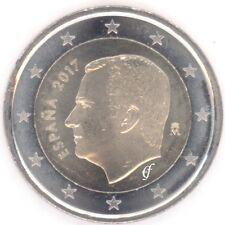 Spanien alle 2 Euro Kursmünzen - alle Jahre wählen - Neu