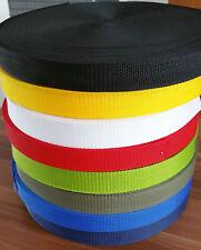 15mm wide Polypropylene Webbing Strapping Upholstery Bag Handle Belts 1-5 Meters