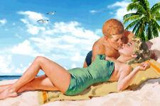 Marilyn Monroe & John F Kennedy Together New Original Pulp Poster Art Print 332a