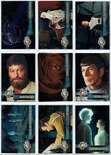 STAR TREK CINEMA 2000 PARALLEL FOIL CARD SINGLES 1-65