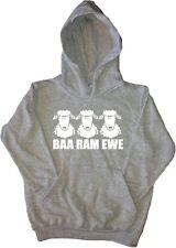 Baa Ram Ewe Funny Kids Hoodie Sweatshirt