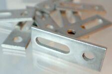 Adapterblech für M10 Stockschraube 1x - 16x Vorteilspack Anbindung Solarschiene