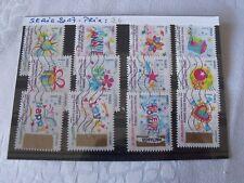 AU CHOIX : Séries complètes décollés timbres FRANCE 2017