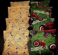 Tractor Country International Farmall fabric ACA Regulation Corn Hole Game Bags