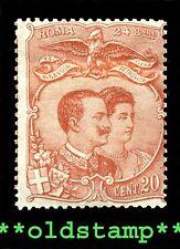 1896 ITALIA ITALY Essay Nozze V.E. Elena Petrovich MLH