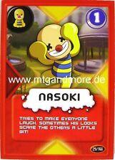 Gogo Crazy Bones TCG - 1x Nasoki  #029