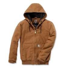 Carhartt Mens Duck Detroit Cotton Insulated Work Jacket