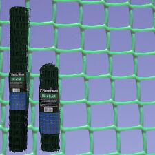 Green Plastic Mesh Garden Barrier Fence Square Planter Climbing Netting Safety