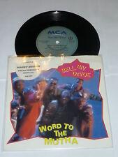 "BELL BIV DeVOE - World to the mutha - 1991 UK 7"""