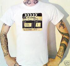 The Shining Clapperboard T-Shirt Jack Nicholson Stephen King Kubrick Duvall