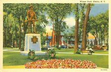 Elmira,NY. 1947 in Wisner Park
