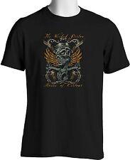 Retro Hot Rod T Shirt Wicked Piston VooDoo Skull 1950 Car Club Big Tall 7X 8X