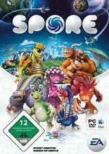 Spore pc gioco in DVD guscio con manuale, ecc. COMPL. tedesco